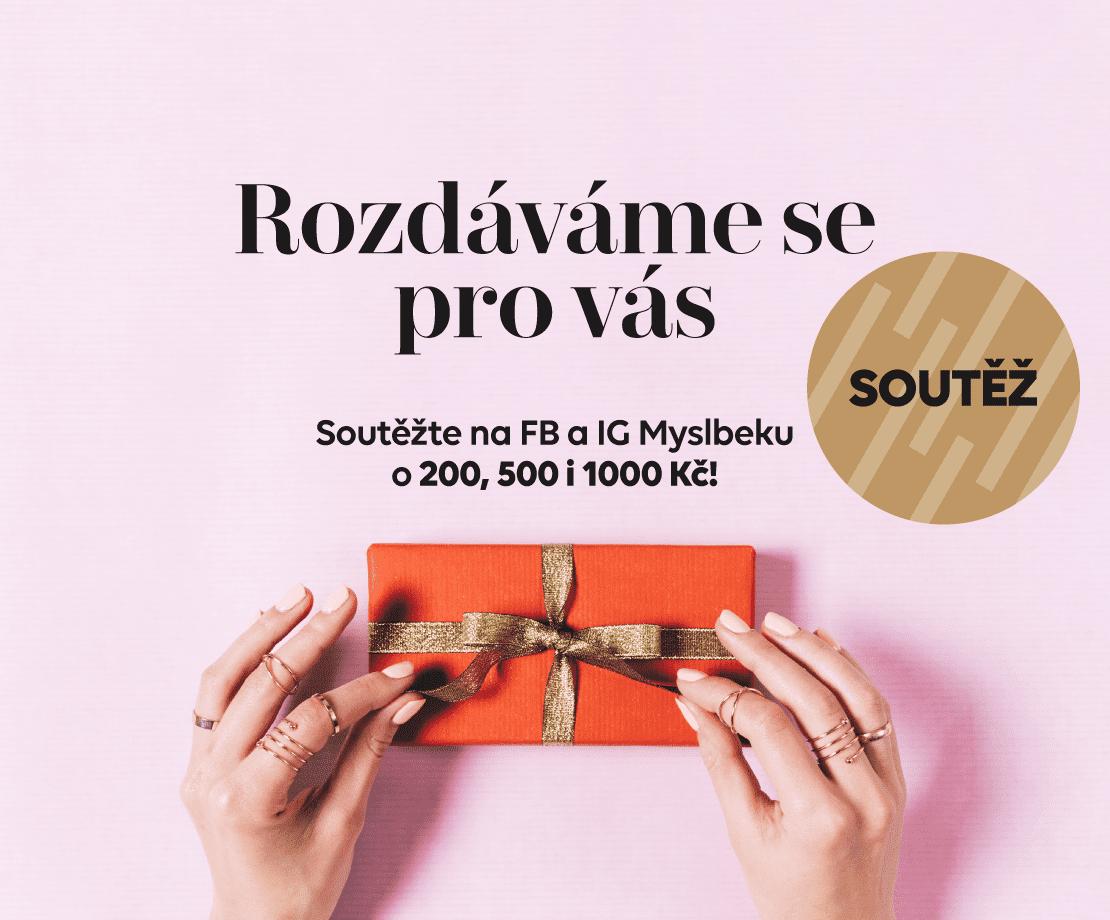 Hrajte s námi o dárkové poukazy na nákupy v Myslbeku