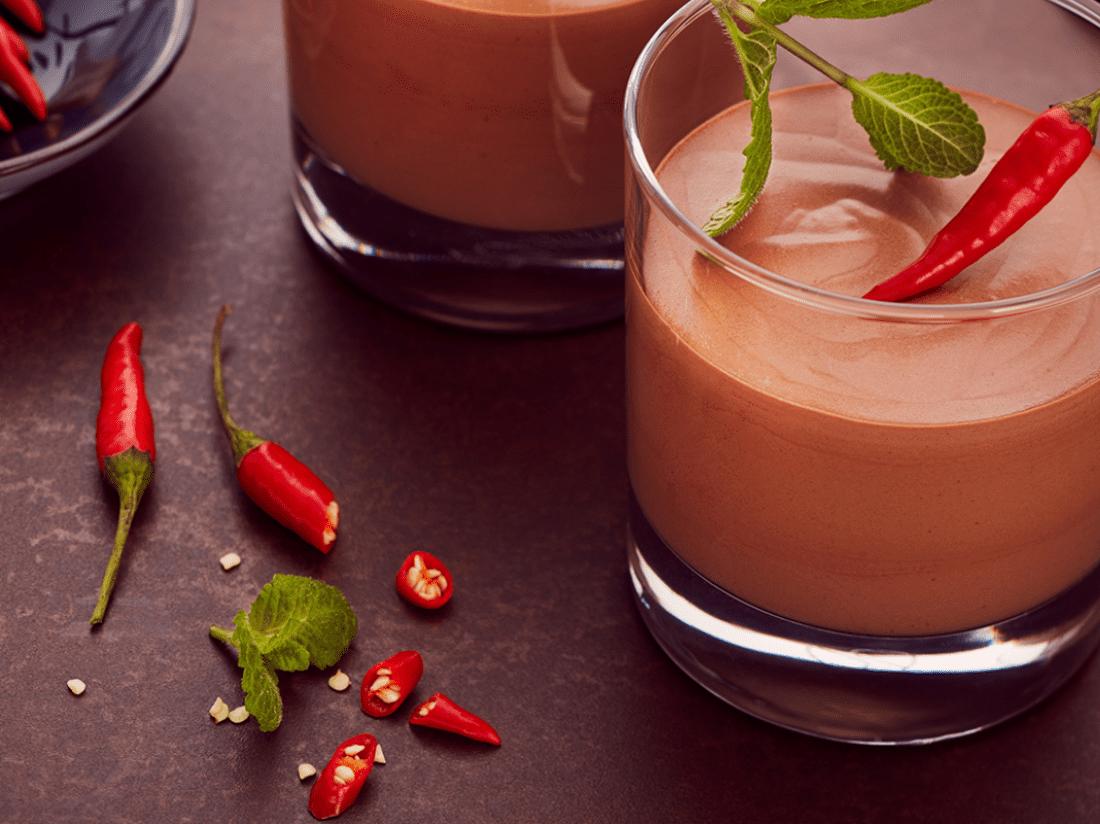 Choco Chilli Mousse ve Vapianu