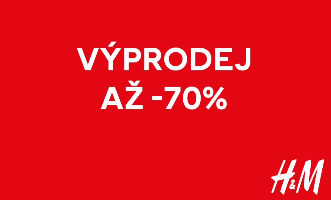 Výprodeje v H&M až 70 %